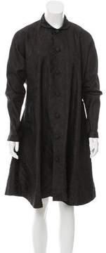 eskandar Longline Silk Jacket