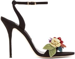 Sophia Webster Lilico crystal-embellished suede sandals