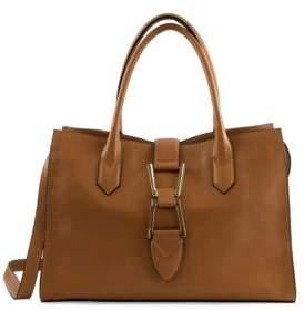 Top Handle Leather Satchel