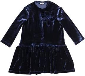 Il Gufo Velvet Dress