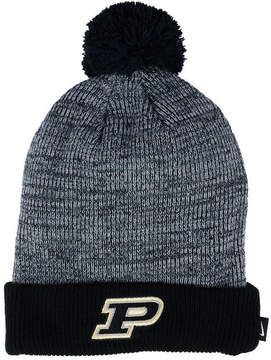 Nike Purdue Boilermakers Heather Pom Knit Hat