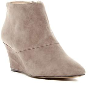 Sole Society Galaossi Pointy Toe Wedge Bootie