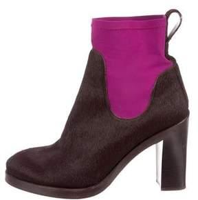 Acne Studios Ponyhair Ankle Boots