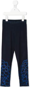 Kenzo glitter print leggings