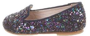 Bloch Girls' Shira Glitter Flats
