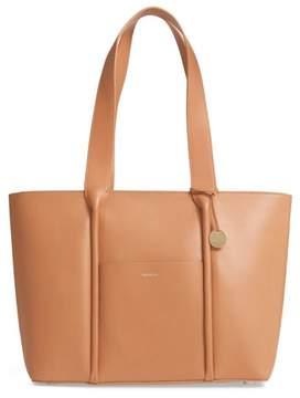 Skagen Lisabet Leather Tote - Brown