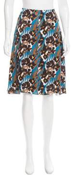 Creatures of the Wind Floral Print Knee-Length Skirt