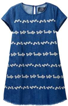 Lucky Brand Jodie Embroidered Denim Dress (Little Girls)