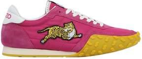 Kenzo Memento Tiger Nylon & Suede Sneakers