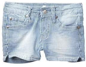 7 For All Mankind 2\ Stripe Shorts (Big Girls)