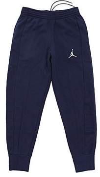 Nike Mens Jordan Flight Basketball Ribbed Cuff Sweatpants Midnight Navy/White 823071-410 Size Large