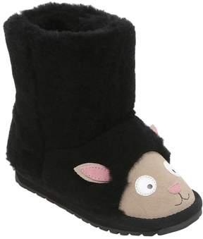 Emu Black Sheep Suede & Merino Wool Boots