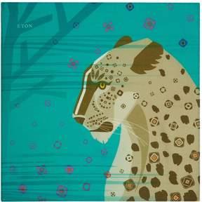 Eton Cheetah Print Pocket Square