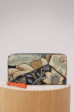 Loewe Puzzle zip around pouch