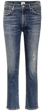Citizens of Humanity Cara high-waisted cropped jeans