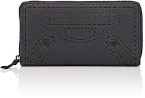 Balenciaga Women's Blackout Continental Wallet