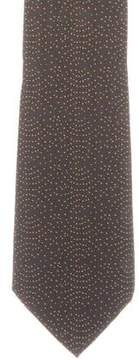 Hermes Speckled Silk Tie