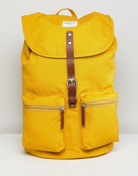 SANDQVIST Roald Backpack in Yellow