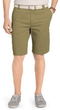 Izod Big & Tall Saltwater Classic-Fit Solid Flat-Front Chino Shorts