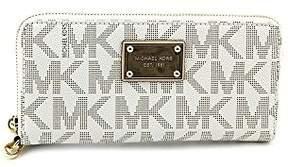 Michael Kors Electronics Phone Zip-Around Continental Wristlet - VANILLA - STYLE