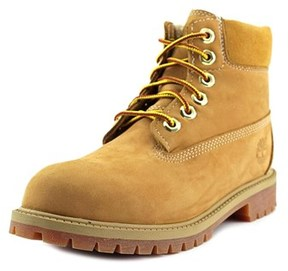 Timberland 6in Classic Shearling Round Toe Suede Boot.