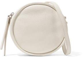 Kara Cd Textured-leather Shoulder Bag - White