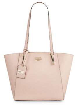 Karl Lagerfeld Suki Saffiano Leather Tote
