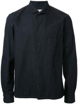 Lemaire spread collar shirt