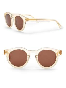 Cat Eye SUNDAY SOMEWHERE Soelae 46mm Round Sunglasses