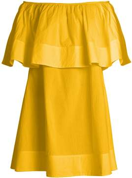 Apiece Apart Piper Petal off-the-shoulder dress