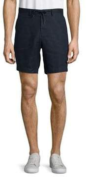 Selected Tapered Linen Shorts