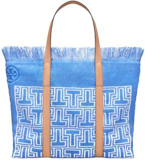 Tory Burch T TERRY TOTE - BLUE - STYLE