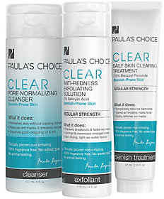 Paula's Choice Acne System Trio, Regular Streng th