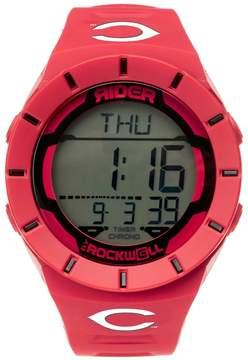 Rockwell Men's Cincinnati Reds Coliseum Digital Watch