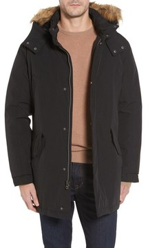 Cole Haan Men's Faux Fur Trim Anorak