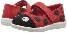 Emu Ladybug Ballet Girls Shoes