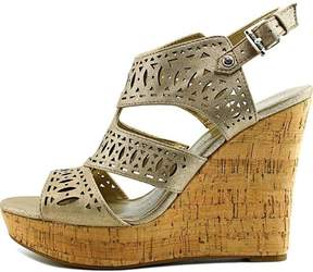 GUESS Womens Vannora Open Toe Casual Platform Sandals