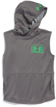 Under Armour Boy's Train To Game Sleeveless Coldgear Hoodie