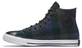 Converse X WOOLRICH CHUCK TAYLOR ALL STAR HIGH TOP mens fashion-sneakers 153835C-049_9.5 - Dark Charcoal