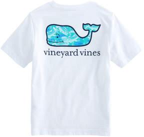 Vineyard Vines Boys School Of Tuna Pocket T-Shirt