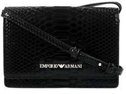 Emporio Armani Y3b086 Yh26a 80001 Black Clutch Handbag.