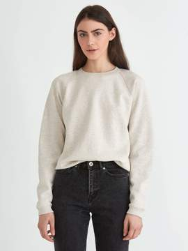 Frank and Oak The Gym Sweatshirt in Stone Heather