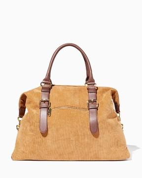 Charming charlie Corduroy Weekender Bag