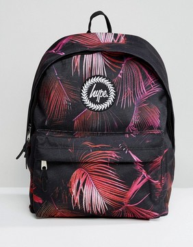 Hype Violet Garden Print Backpack