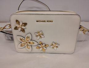 MICHAEL Michael Kors Floral Applique Shoulder Bag