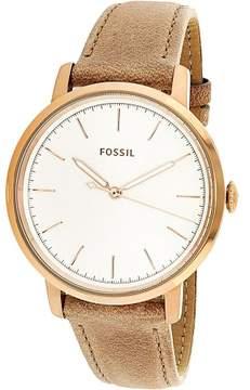 Fossil Women's Neely ES4185 Tan Leather Quartz Fashion Watch