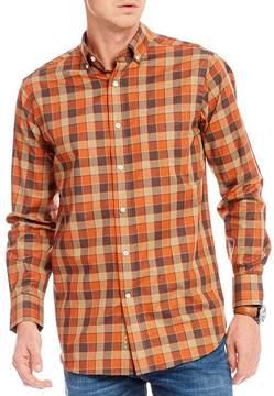 Daniel Cremieux Check Fine Twill Long-Sleeve Woven Shirt