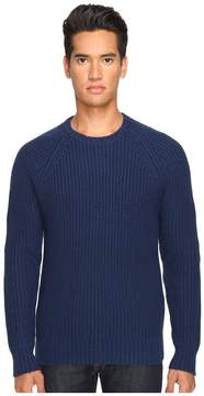 Jack Spade Shaker Stitch Ribbed Crew Neck Sweater Men's Sweater