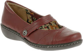 Hush Puppies Soft Style by Jayne Leather Mary Jane Flats