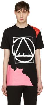 McQ Black Abstract Icon T-Shirt